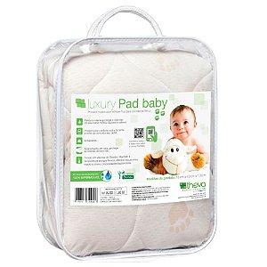 Protetor Impermeável e Pillow Top Para Berço Luxury Pad Baby