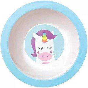 Pratinho de Bebê Bowl (Fundo) Animal Fun - Unicórnio - Buba