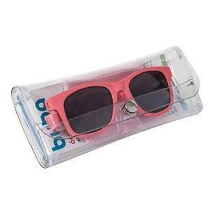 Óculos de Sol Infantil Rosa Alça Ajustável - Buba