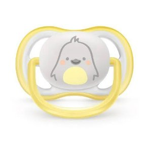 Chupeta Ultra Air, Tam. 1, Pinguim, 0-6 Meses, Philips Avent