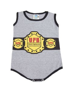 Body UFB Ultimate Fighting Baby Cor Mescla Pega Legal
