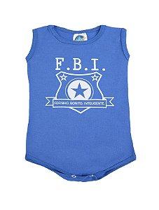 Body FBI Azul Pega Legal