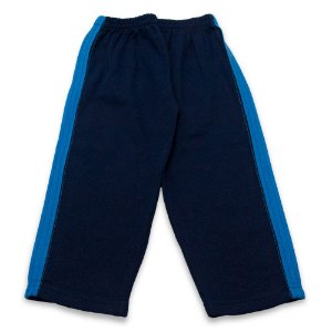 Calça Menino Malha Azul Marinho Cleomara