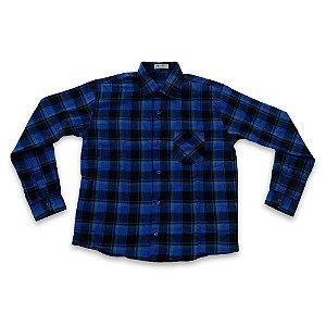 Camisa Flanela Manga Longa Menino 100% Algodão Mac Rose CM-0023-09 Tam 16