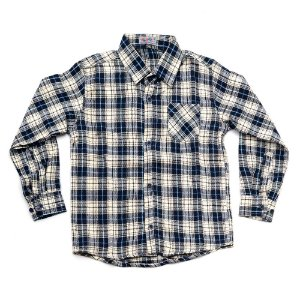 Camisa Flanela Manga Longa Menino 100% Algodão Mac Rose CM-0023-15 Tam 8 e 10