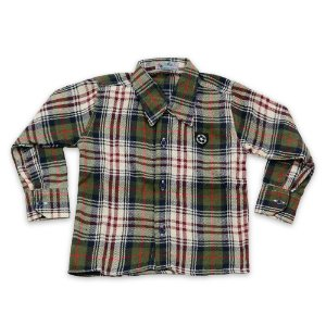 Camisa Flanela Manga Longa Menino 100% Algodão Mac Rose CM-0028-03 Tam 2
