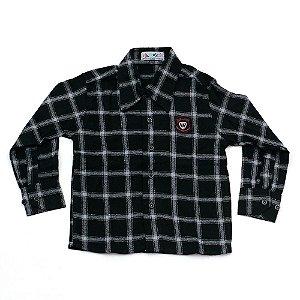 Camisa Flanela Manga Longa Menino 100% Algodão Mac Rose CM-0028-04 Tam 2 e 3