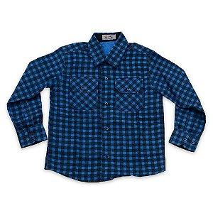 Camisa Flanela Manga Longa Menino 100% Algodão Mac Rose CM-0662-04 Tam 4-6-12-14-16