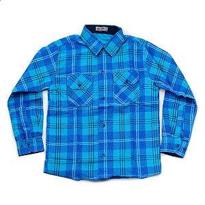 Camisa Flanela Manga Longa Menino 100% Algodão Mac Rose CM-0662-01 Tam 8-10-16