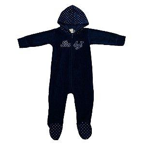 Macacão Baby Menina Azul Marinho Ralakids