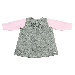 Vestido Baby Mescla em Matelasse Ralakids