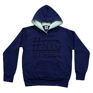Casaco NYC Juvenil Menino Azul Marinho Didiene