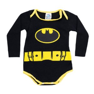 Body Preto Batman Pega Legal