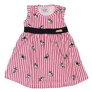 b391cca55 Vestido Pug Rosa Pop Love
