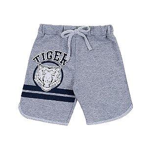 Bermuda Infantil Masculina Mescla Tiger Bju Kids