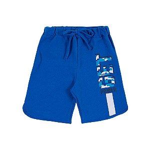 Bermuda Infantil Masculina Azul Get Power Bju Kids