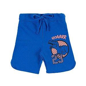Bermuda Infantil Masculina Azul Roarr Bju Kids