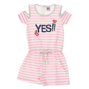 Macaquinho Infantil Masculino Yes Rosa Didiene