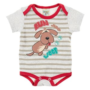 Body Bebê Masculino Cachorro Mescla Didiene