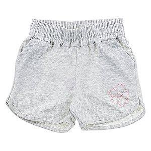 Short Infantil Feminino Mescla For Girl