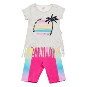 Conjunto Infantil Feminino Praia Creme For Girl