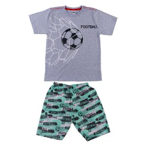 Conjunto Infantil Masculino Futebol Mescla Didiene