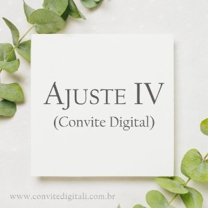 Ajuste Digital IV