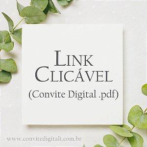 Link Clicável em Convite Digital