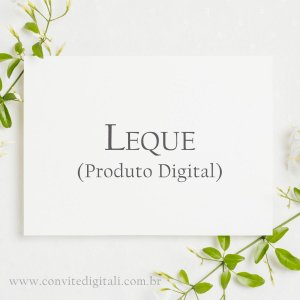 Leque - Arte Digital