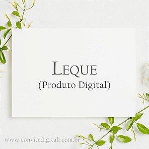 Leque - Arte Digital