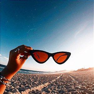 óculos retrô califórnia RED