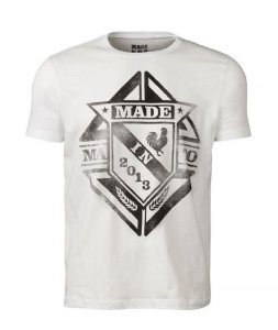 Camiseta Masculina Made in Mato - Branca