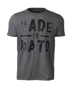 Camiseta Masculina Made in Mato - Mescla