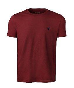 Camiseta Masculina Básica - Vermelho Chilli