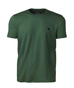 Camiseta Masculina Básica - Verde Floresta