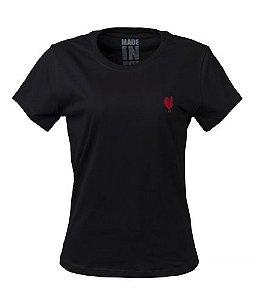 Camiseta Básica Feminina - Preta