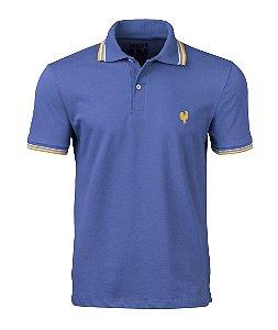 Camisa Polo Masculina - Azul