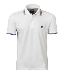 Camisa Polo Masculina - Branca