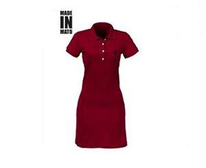 Vestido Polo - Vermelho
