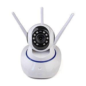 Câmera Robozinha IP Sem Fio Wireless HD - Alta Definição