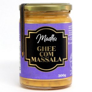 Ghee com Massala 300g | Madhu Ghee