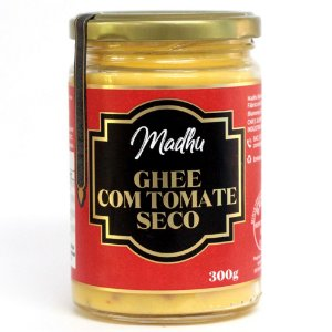 Ghee com Tomate Seco 300g | Madhu Ghee