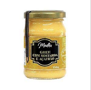 Ghee com Mostarda e Açafrão 150g | Madhu Ghee
