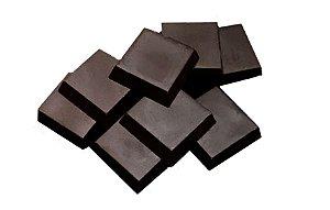 Tabletes Chocolate 80% Cacau Gobeche -Com Eritritol / Sem leite/ Sem glúten/ Vegano - 1,01kg