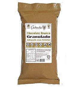 Chocolate Branco Granulado Gobeche - Adoçado com Eritritol