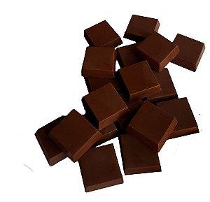 Tabletes Chocolate 80% Cacau Gobeche - Sem Leite/Sem Glúten/com Açúcar Mascavo - 1 kg