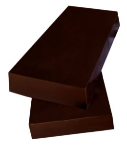 Barra Chocolate 100% Gobeche -  Sem Leite/Sem glúten/Vegano -  1kg
