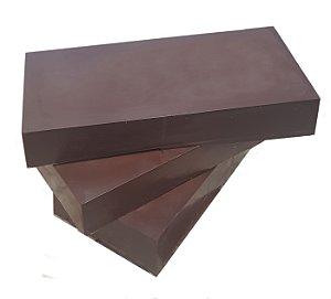 Barra Chocolate 70% Cacau Gobeche - Com Eritritol / Sem Leite / Vegano/ Sem glúten - 1kg