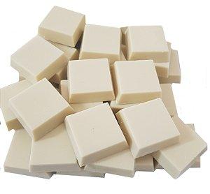 Tabletes Chocolate Gobeche Branco Ao Leite de Coco - Com Eritritol/ Vegano/Sem Glúten - 1kg