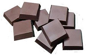Tablete Chocolate Puro 50% Cacau Sem Açúcar e Sem Adoçante - 1kg